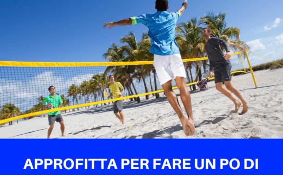 Sport in Vacanza : il momento giusto per iniziare