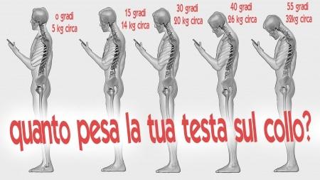 smartphone e dolori al collo