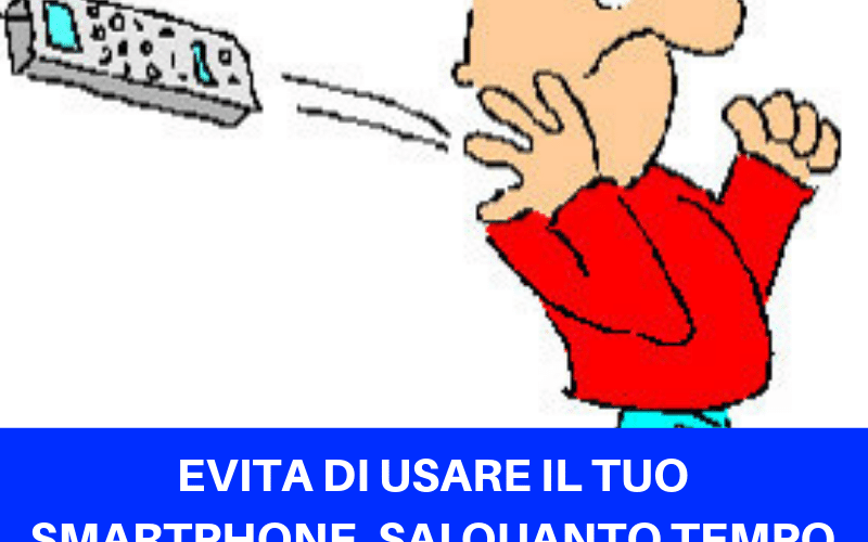 Dolori da Smartphone : lascialo a casa